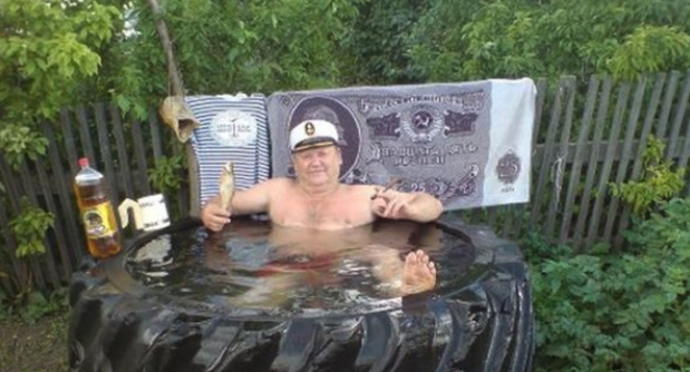 Russian DIY Bath