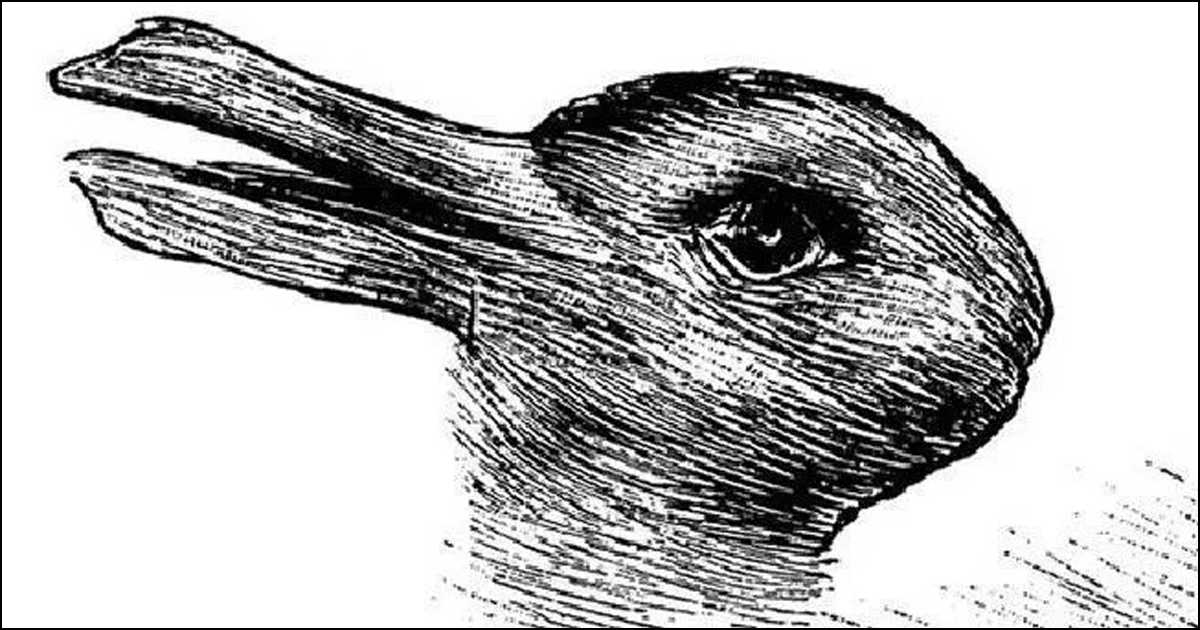 100 years old optical illusion