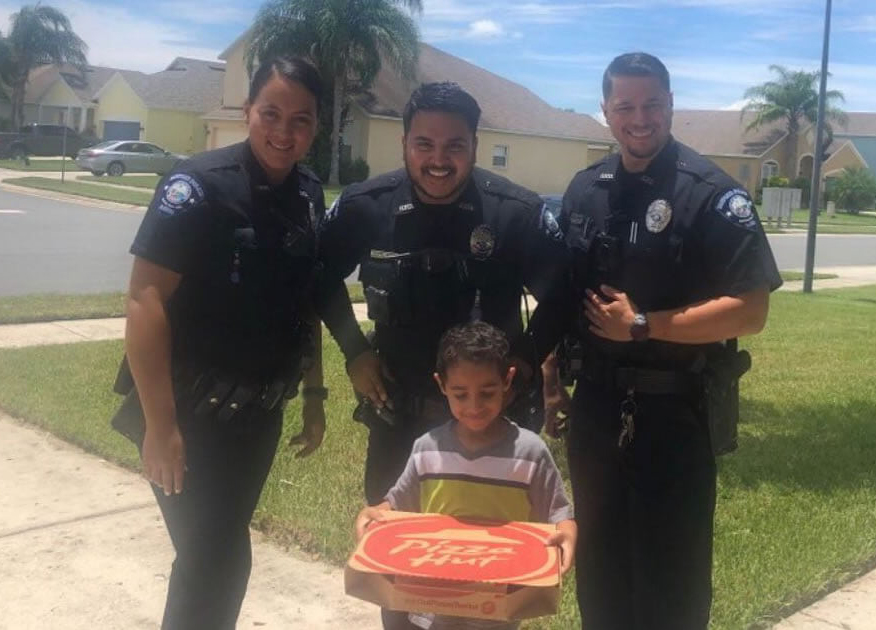 boy calls 911 pizza