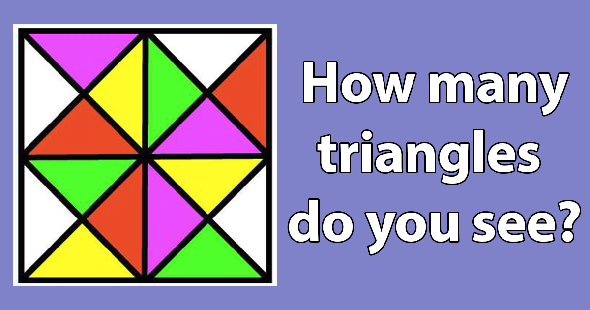 find all the triangles