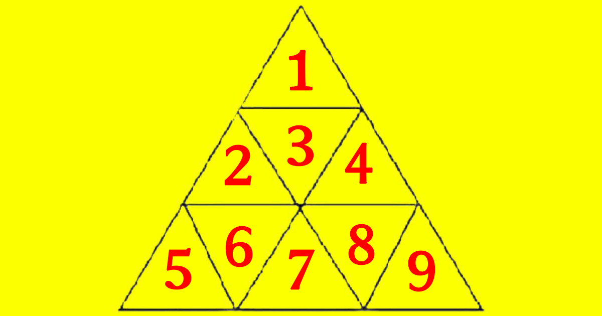 how many triangles solution 1