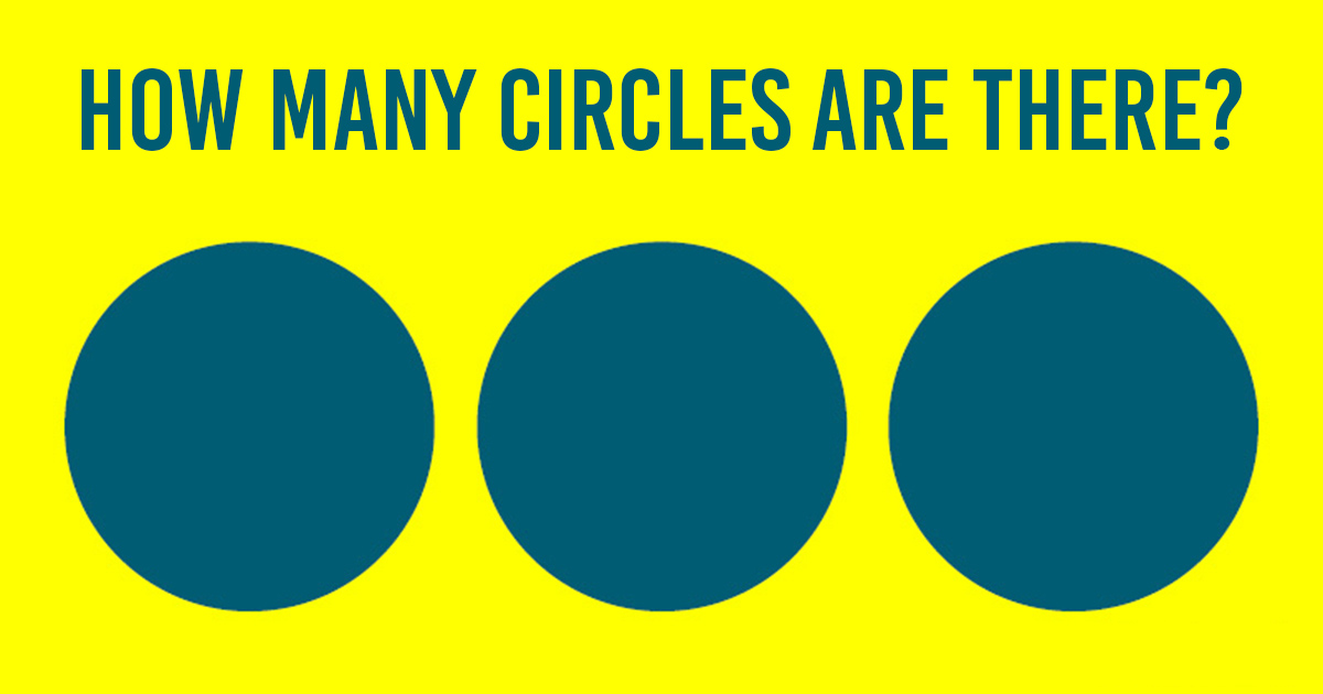 How many circles?