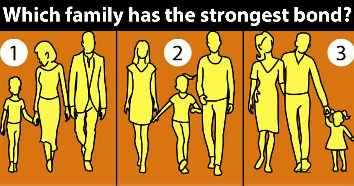 Which family has the strongest bond? 1