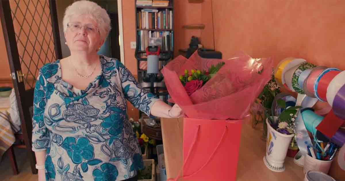 flowers for the 67-year-old