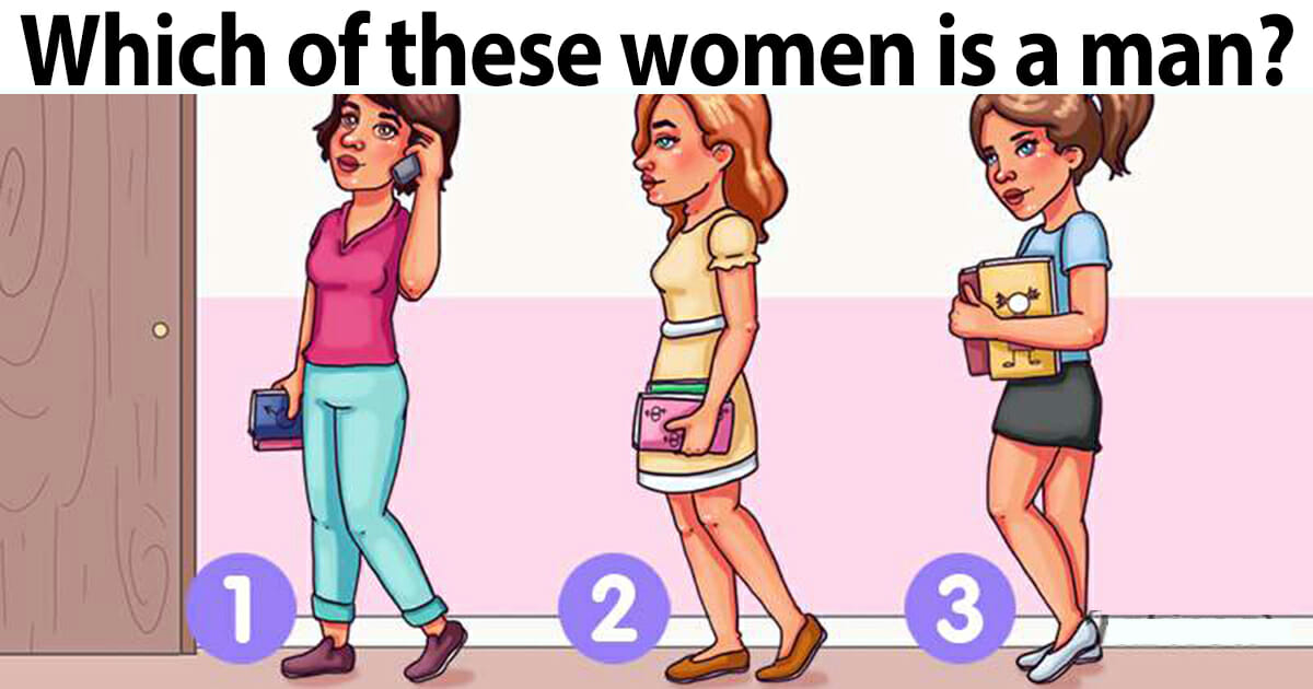 which one is a man?