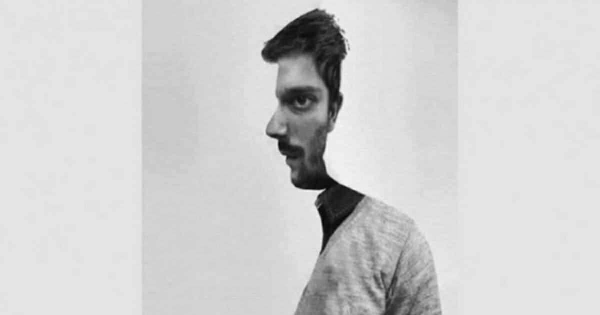 How do you perceive the man?