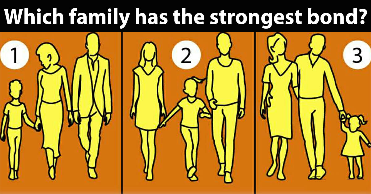 Which family has the strongest bond?
