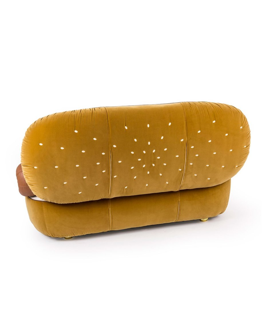 giant hot dog couch