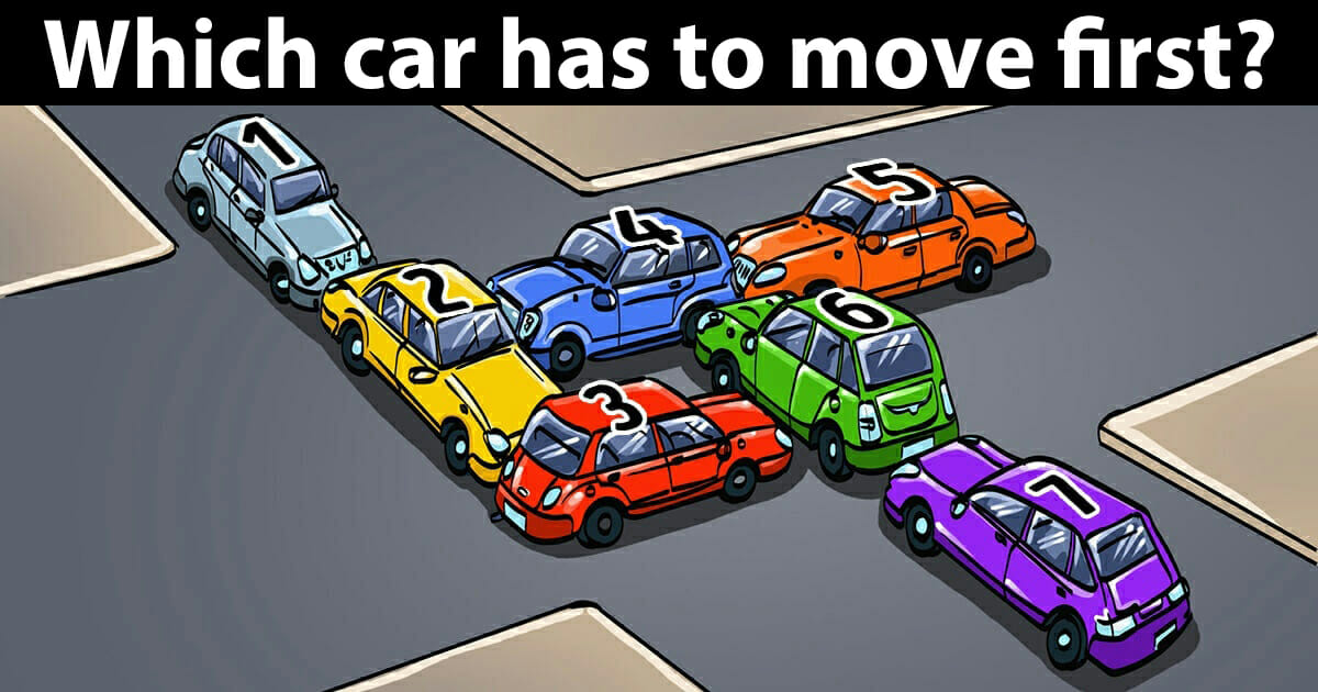 Which car hast too move?