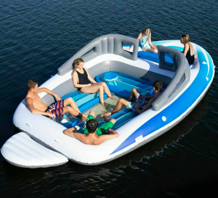 inflatable yacht 001