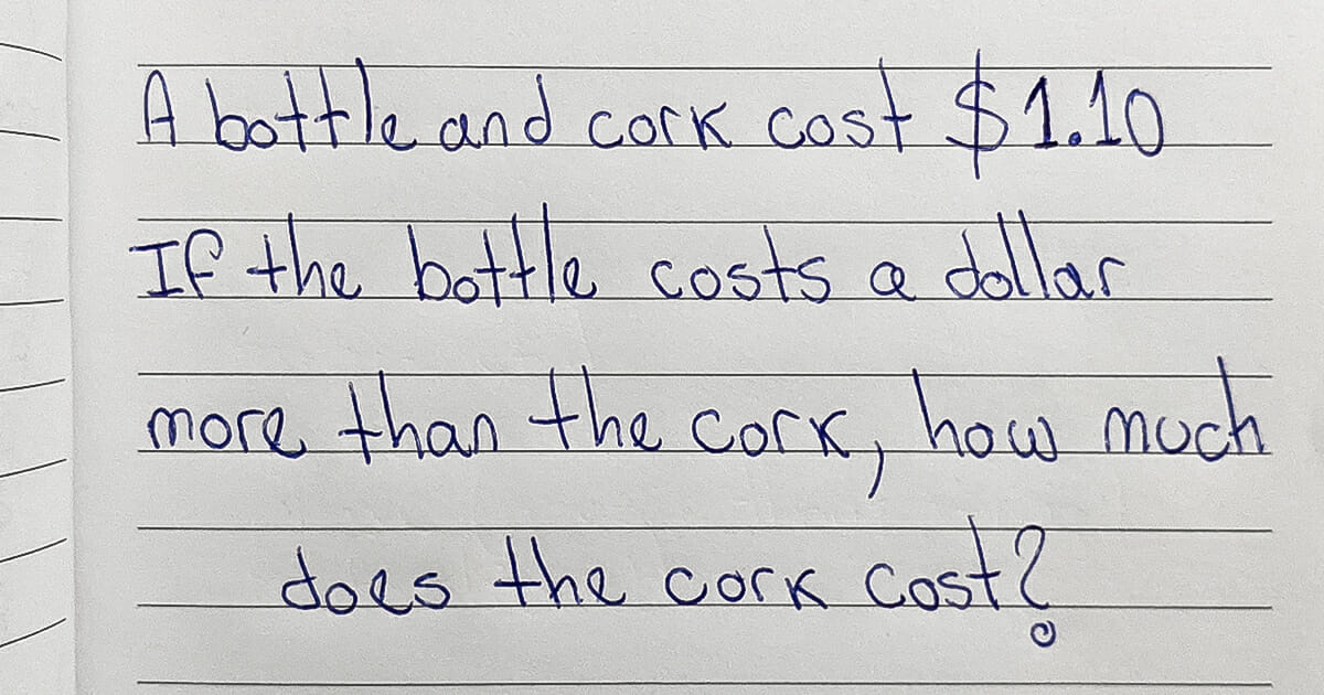 How much does the cork cost?