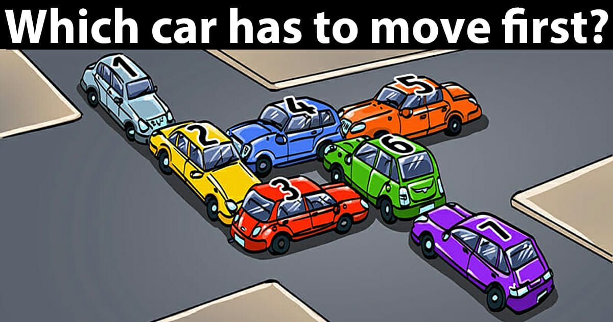 which car has to move first?